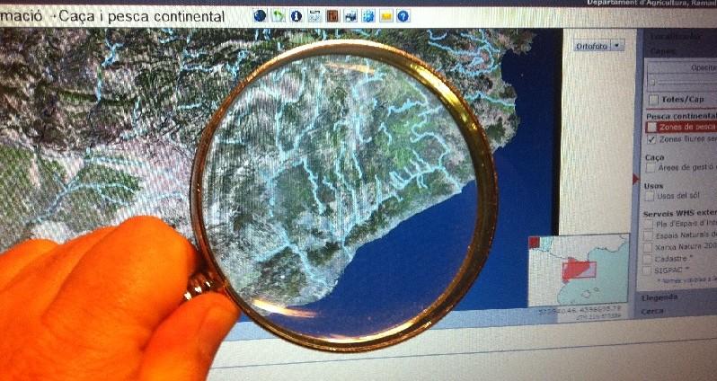 Nuevo visor de pesca para localizar cotos y zonas libres de pesca en Cataluña (2017)