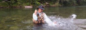 Idrija: río de grandes truchas