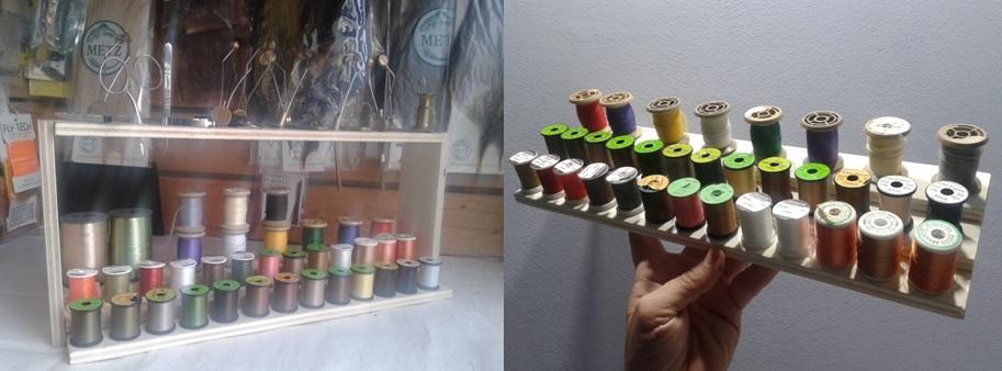 Cómo hacer un organizador de hilos y herramientas de montaje de moscas (segunda entrega)