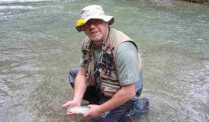 Río Bastareny; coto de pesca sin muerte de Bagà