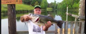 Vídeo: El hombre que hipnotiza a los peces  (pescando bass a mano)