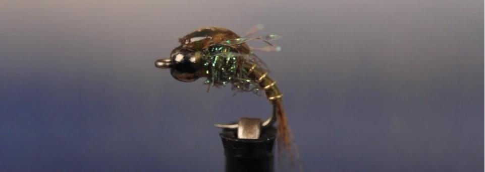 Vídeo montaje moscas: Evile Olive