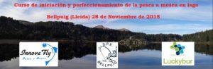 Jornada de iniciación y perfeccionamiento de pesca en lago; Bellpuig (Lleida)28 de Noviembre de 2015