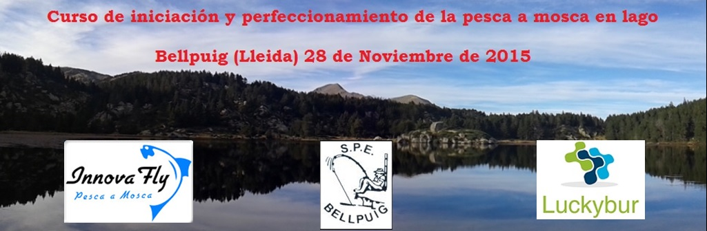 En este momento estás viendo Jornada de iniciación y perfeccionamiento de pesca en lago; Bellpuig (Lleida)28 de Noviembre de 2015