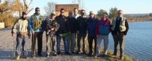 Resumen curso iniciación de pesca a mosca en lago