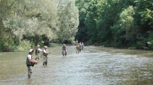 Curso técnicas de lanzado pesca a mosca – Lleida – 13 de Mayo de 2017