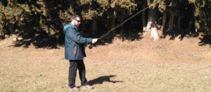 Curso avanzado de lance con caña de mosca; Jaume Feixa