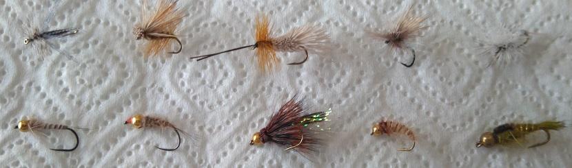 TOP 10 moscas recomendadas para pescar Hungría