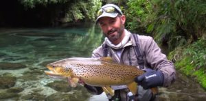 Vídeo: Fly fishing New Zealand 'the DREAM STREAM'